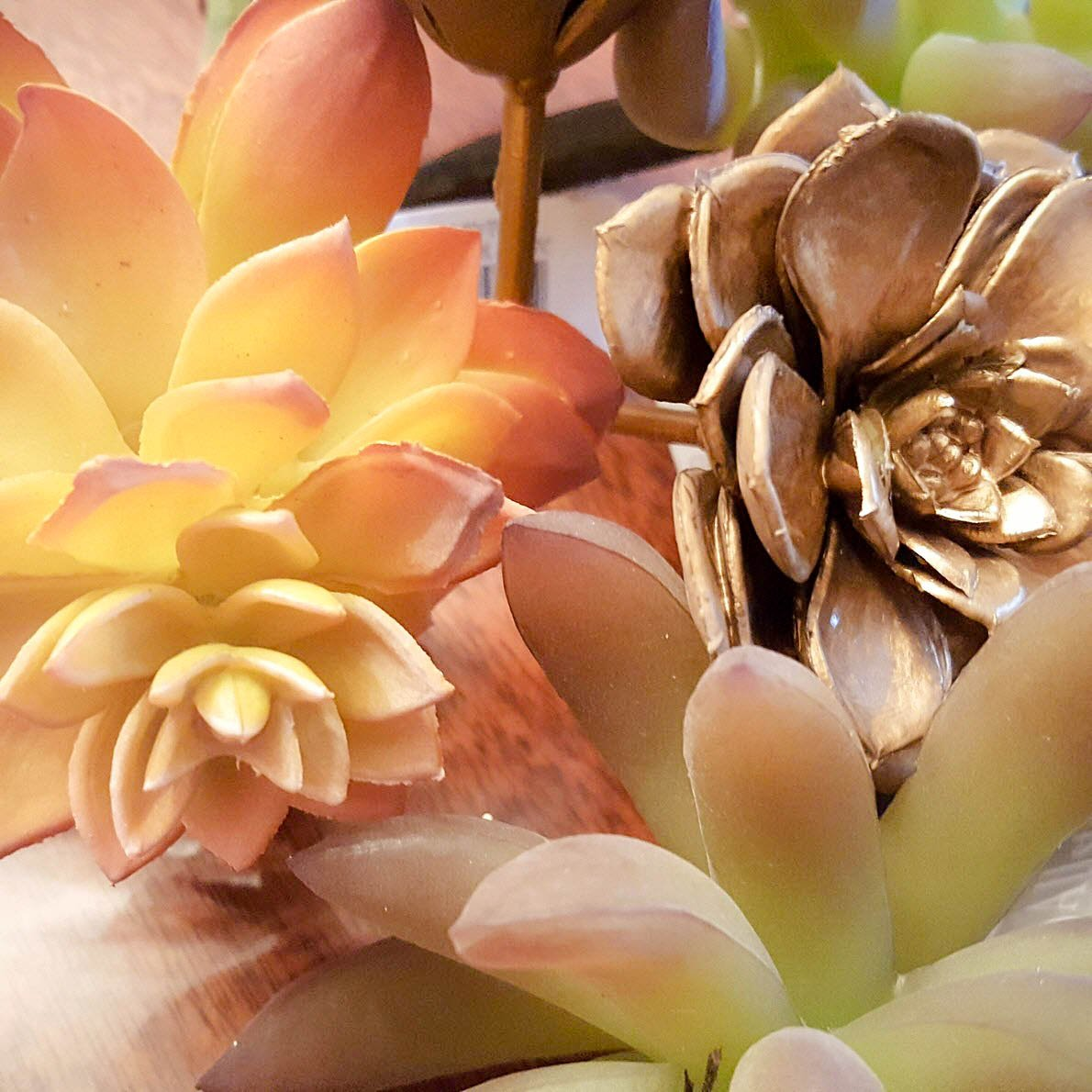 How To Make A Stunning Artificial Succulent Garden Centerpiece