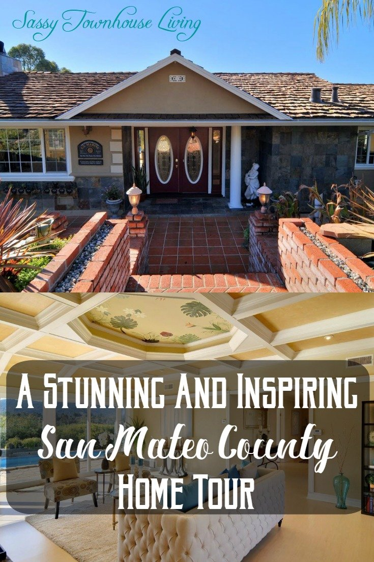 A Stunning And Inspiring San Mateo County Home Tour - Sassy Townhouse Living