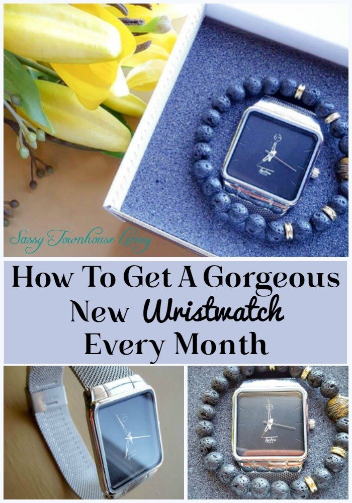 How To Get A Gorgeous New Wristwatch Every Month - Sassy Townhouse Living