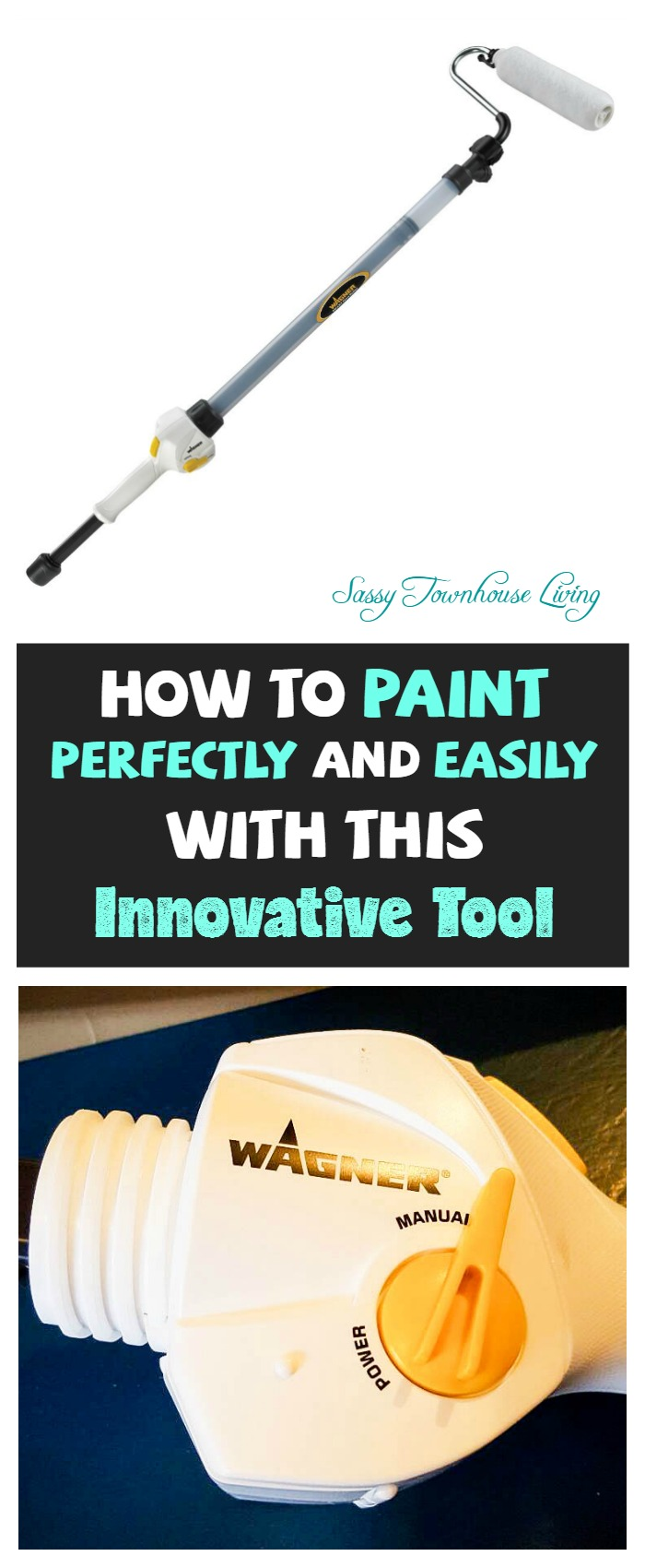 How To Paint Perfectly And Easily With This Innovative Tool - Sassy Townhouse Living