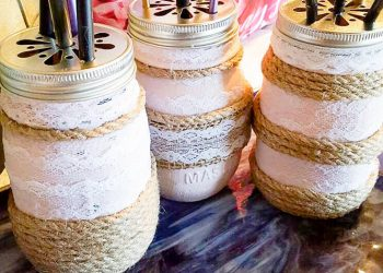 How To Easily Create Stunning Farmhouse Mason Jars -