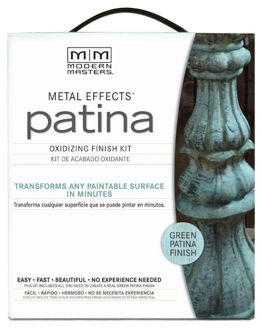 How To Easily Create A Beautiful Faux Patina Finish