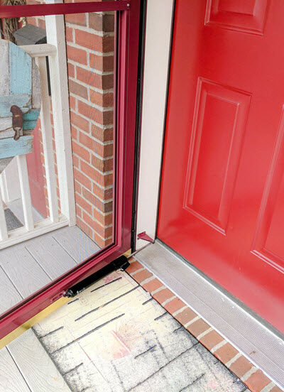 How To Easily Clean Your Front Door Back To New Again - Sassy Townhouse Living
