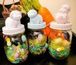 How To Make Adorable Easter Mason Jars