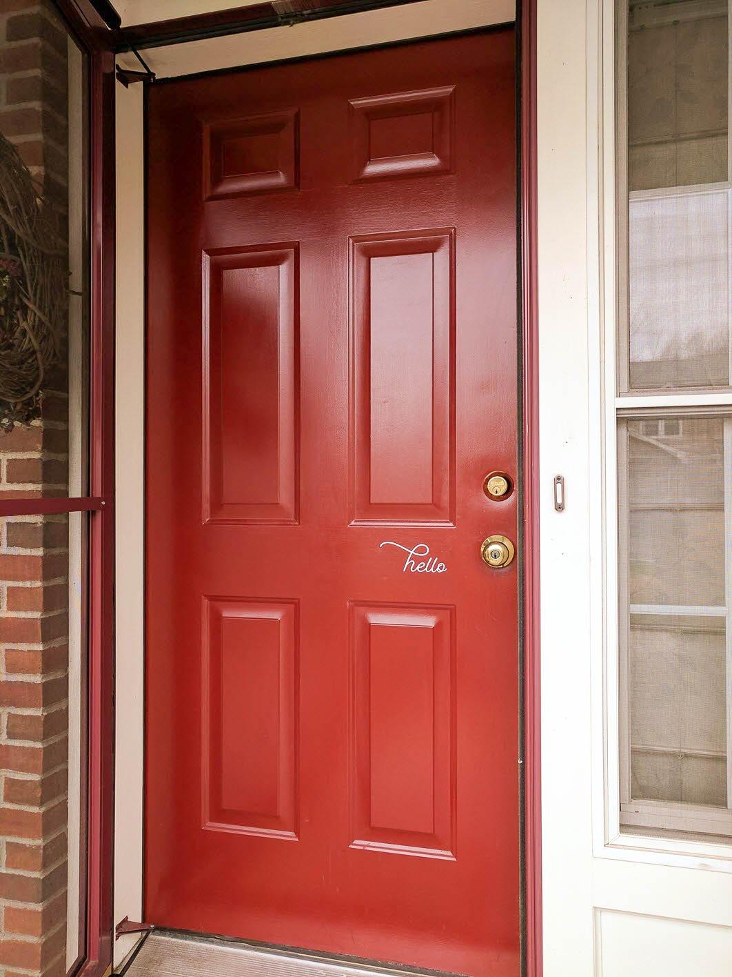 How to easily clean your front door back to new again for 13 door