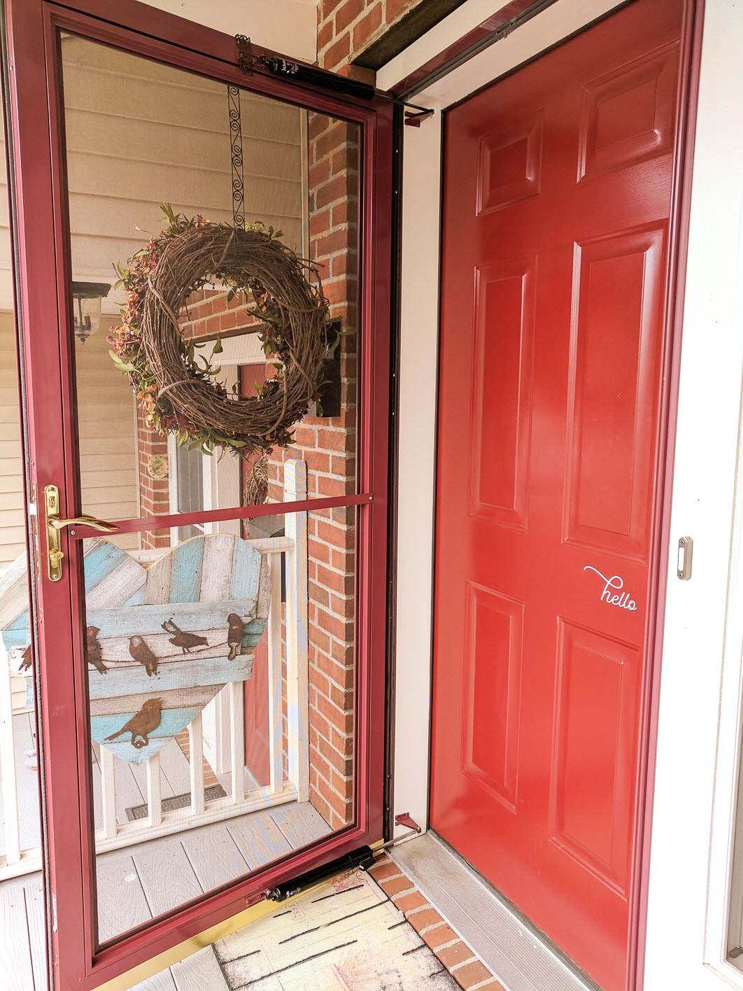 Clean Your Front Door