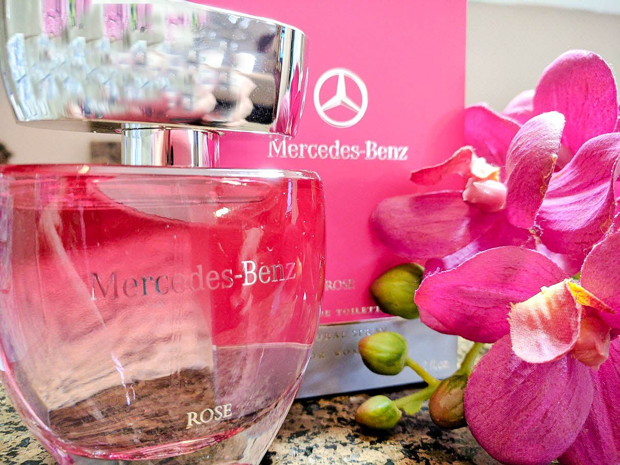My Latest Perfume Obsession - Mercedes Benz For Her