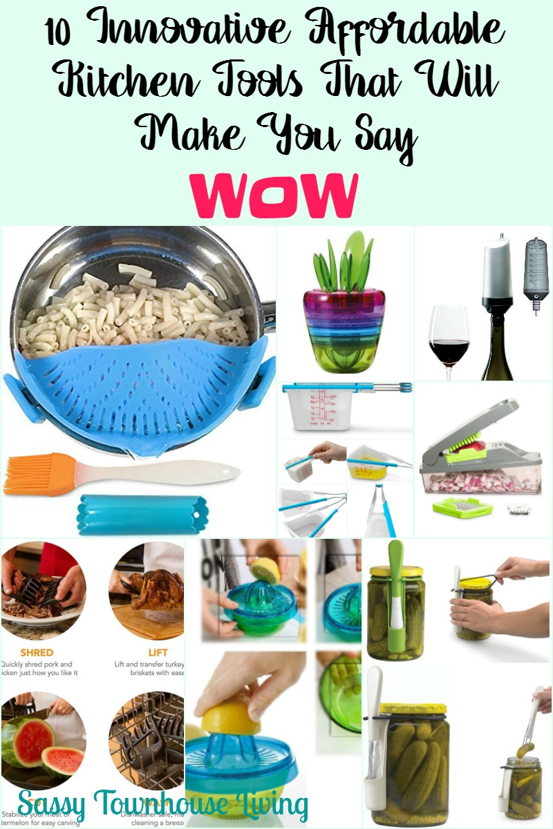 10 Innovative Affordable Kitchen Tools What Will Make You Say Wow - Sassy Townhouse Living