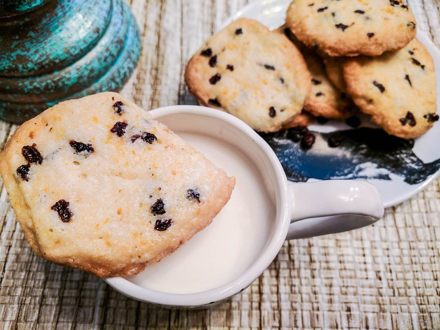 Currant And Orange Shortbread Cookie