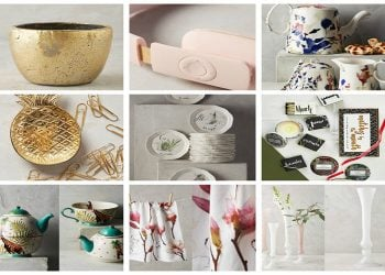 Ten Anthropologie Gifts That Will Make Your Mom Happy