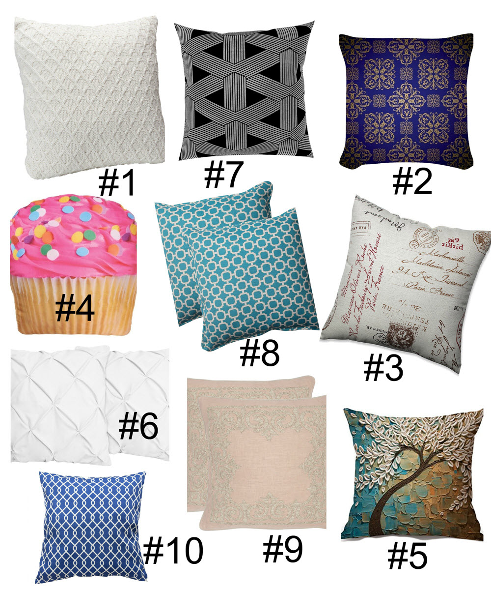 Throw Pillow Obsession These Are Gorgeous And Priced Right!