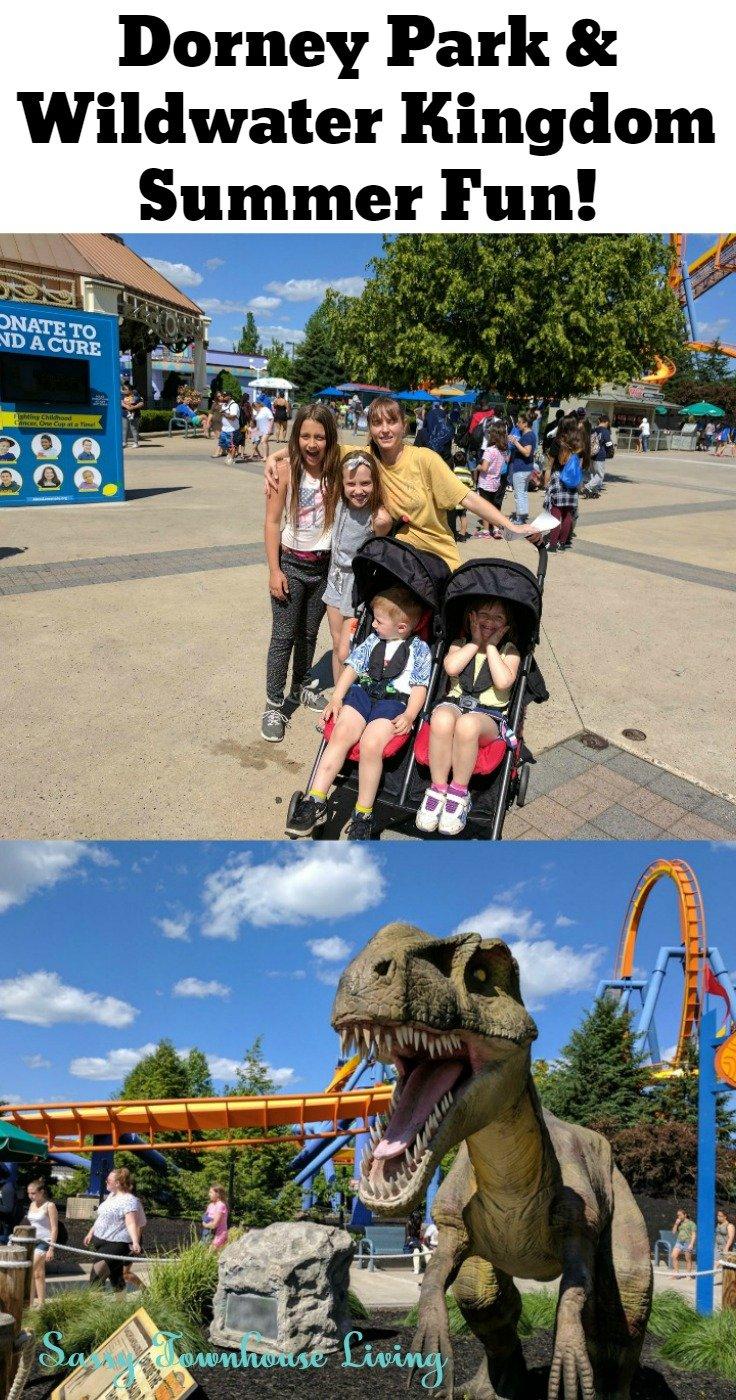 Dorney Park & Wildwater Kingdom Summer Fun! - Sassy Townhouse Living