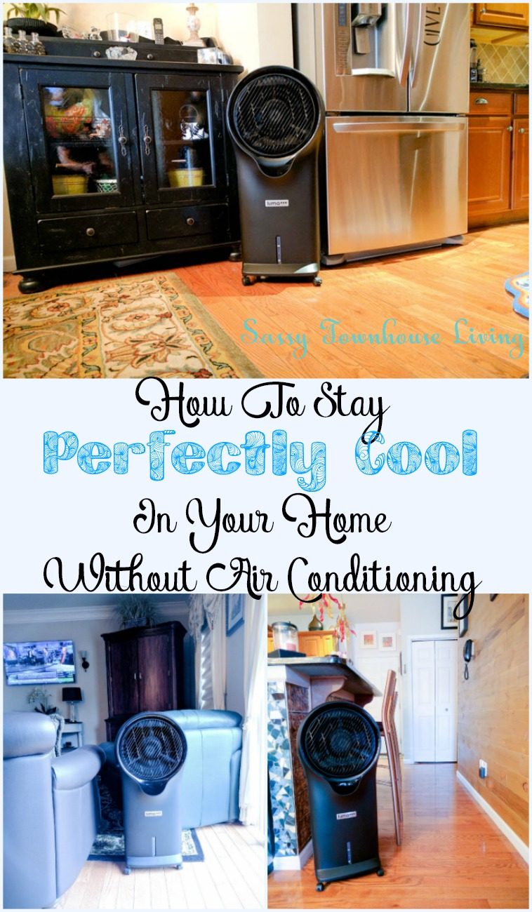 How To Stay Perfectly Cool In Your Home Without Air Conditioning - Sassy Townhouse Living