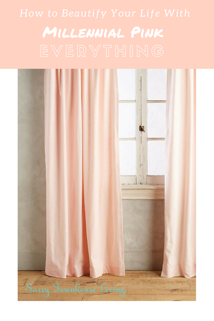 How to Beautify Your Life With Millennial Pink Everything - Sassy Townhouse Living