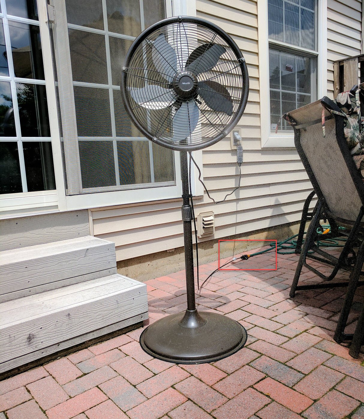 Newair Outdoor Misting Fan