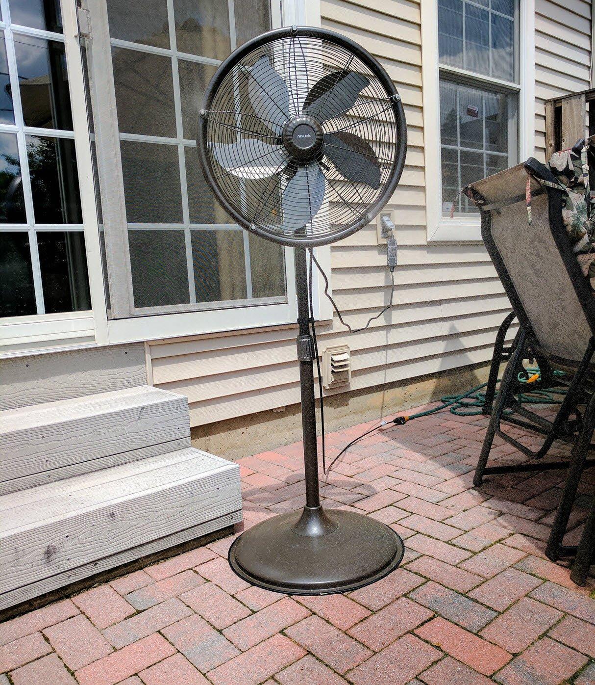 newair outdoor misting fan - Outdoor Misting Fan