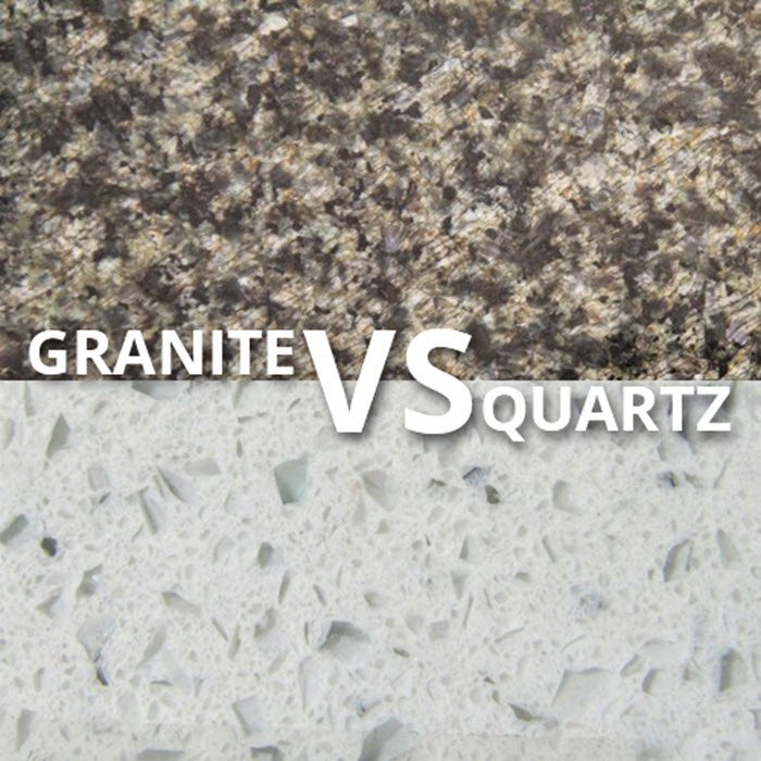 Say buh bye granite and hello to quartz countertops for Cost of quartz vs granite countertops
