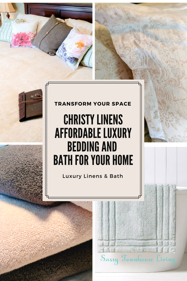Christy Linens - Affordable Luxury Bedding And Bath For Your Home - Sassy Townhouse Living