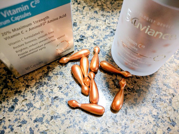 How To Boost Your Anti-Aging Routine With Exuviance Vitamin C Capsules
