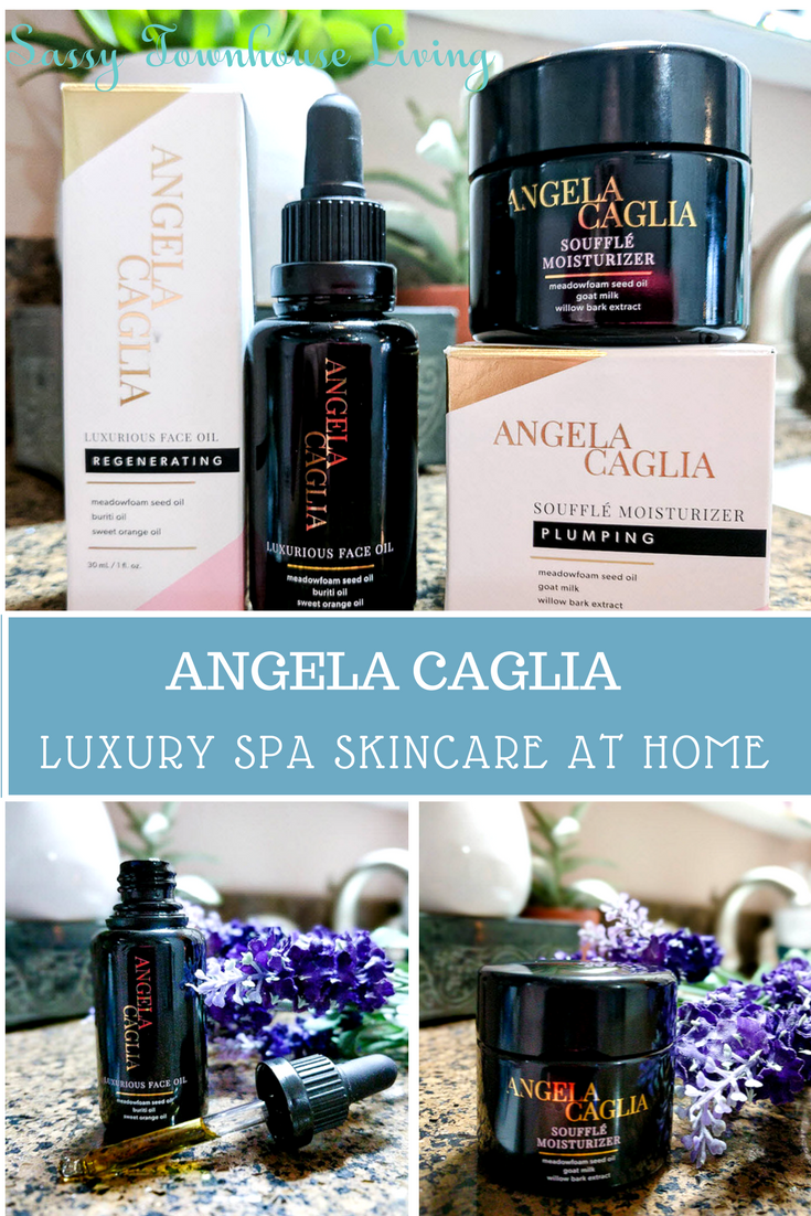 Angela Caglia - Luxury Spa Skincare At Home - Sassy Townhouse Living