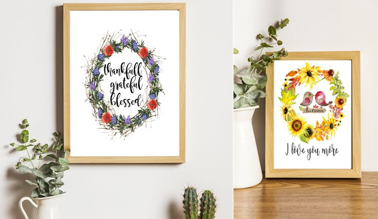 Two More Beautiful Free Fall Printables Just For You!