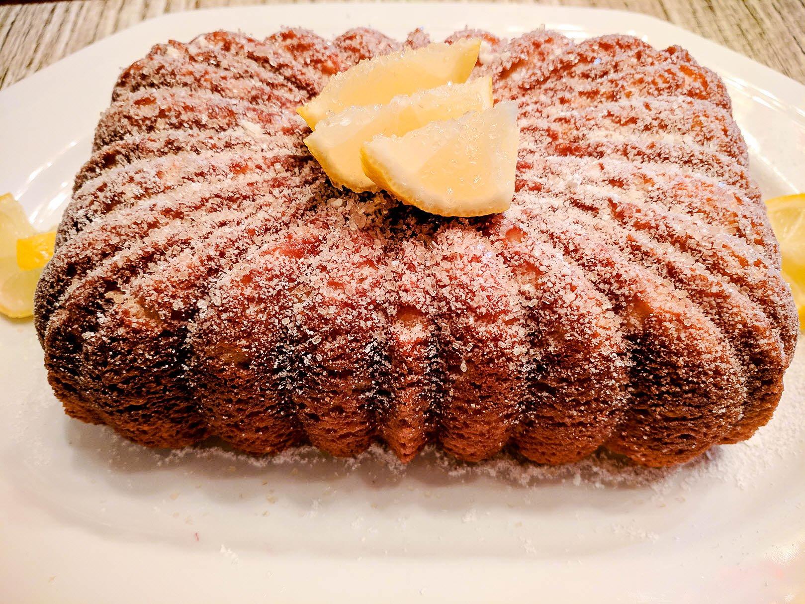 Meyer Lemon Ricotta Pound Cake