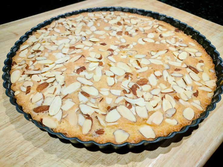 Sunshine Cake – A Delicious Buttery Almond Tart Recipe