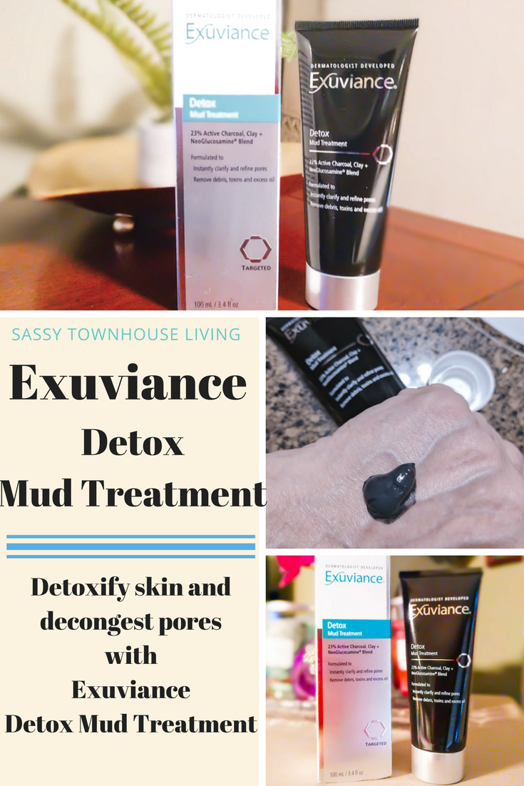 Purify Your Skin With Exuviance Detox Mud Treatment - Sassy Townhouse Living