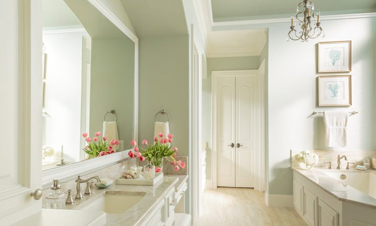 . 10 Simple And Beautiful Bathroom Decorating Ideas