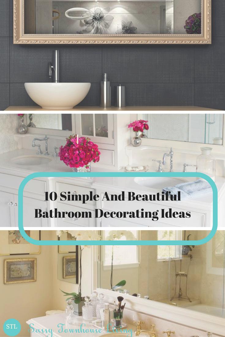 Beautiful bathroom decorating ideas