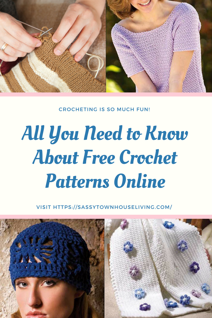 All You Need to Know About Free Crochet Patterns Online - Sassy Townhouse Living