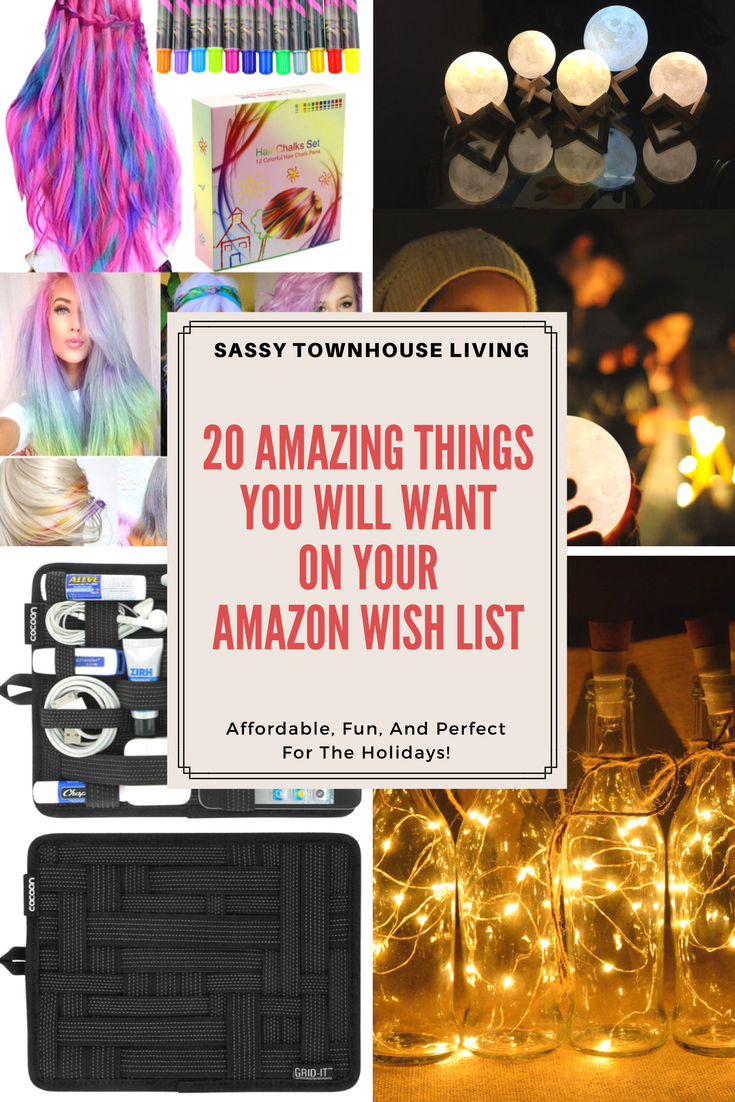 20 Amazing Things You Will Want On Your Amazon Wish List - Sassy Townhouse Living