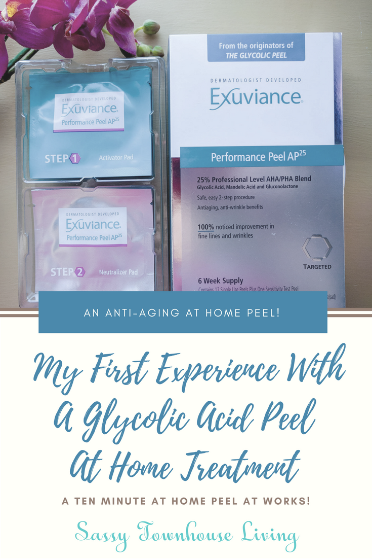 My First Experience With A Glycolic Acid Peel At Home Treatment - Sassy Townhouse Living