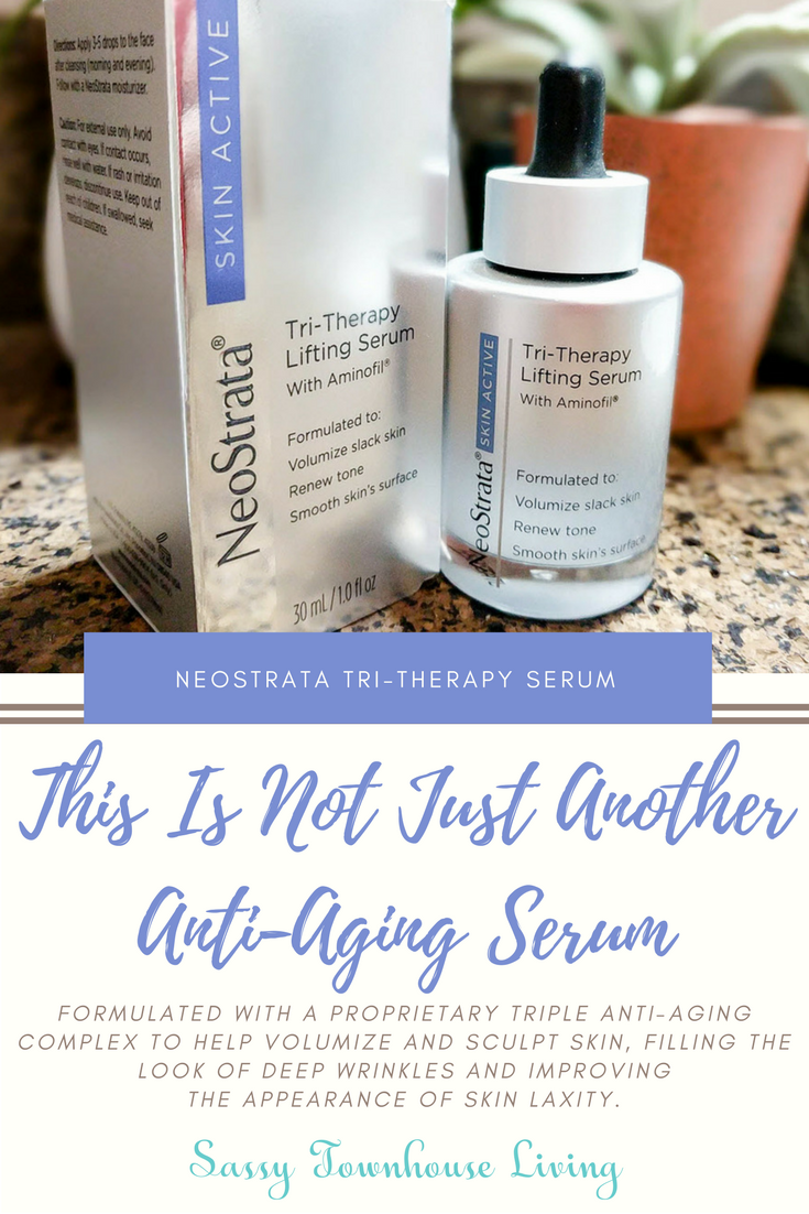 This Is Not Just Another Anti-Aging Serum - NeoStrata Tri-Therapy Serum - Sassy Townhouse Living