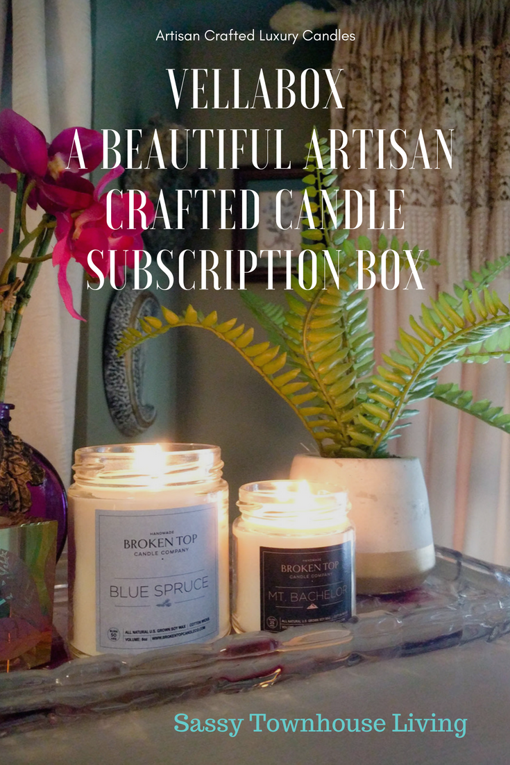 Vellabox - A Beautiful Artisan Crafted Candle Subscription Box - Sassy Townhouse Living