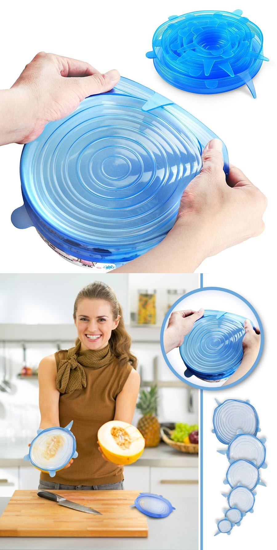 b819edef42 This ultra-convenient clip-on kitchen strainer is an inventive