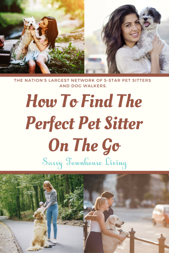 How To Find The Perfect Pet Sitter On The Go - Sassy Townhouse Living
