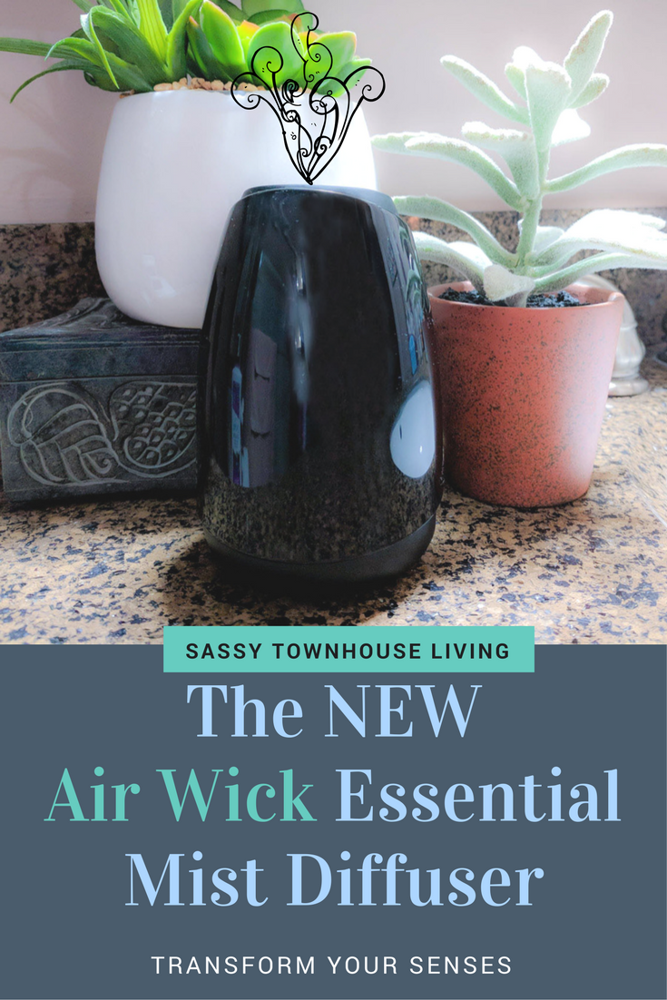 The NEW Air Wick Essential Mist Diffuser - Transform Your Senses - Sassy Townhouse Livng