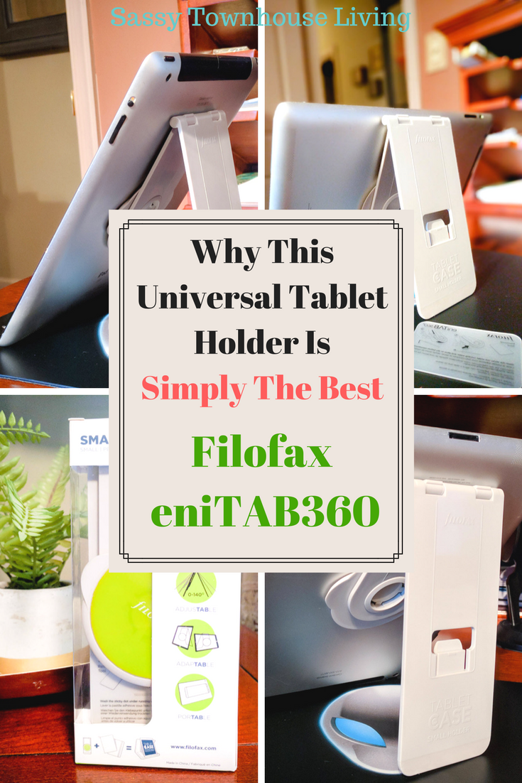 Why This Universal Tablet Holder Is Simply The Best - Sassy Townhouse Living
