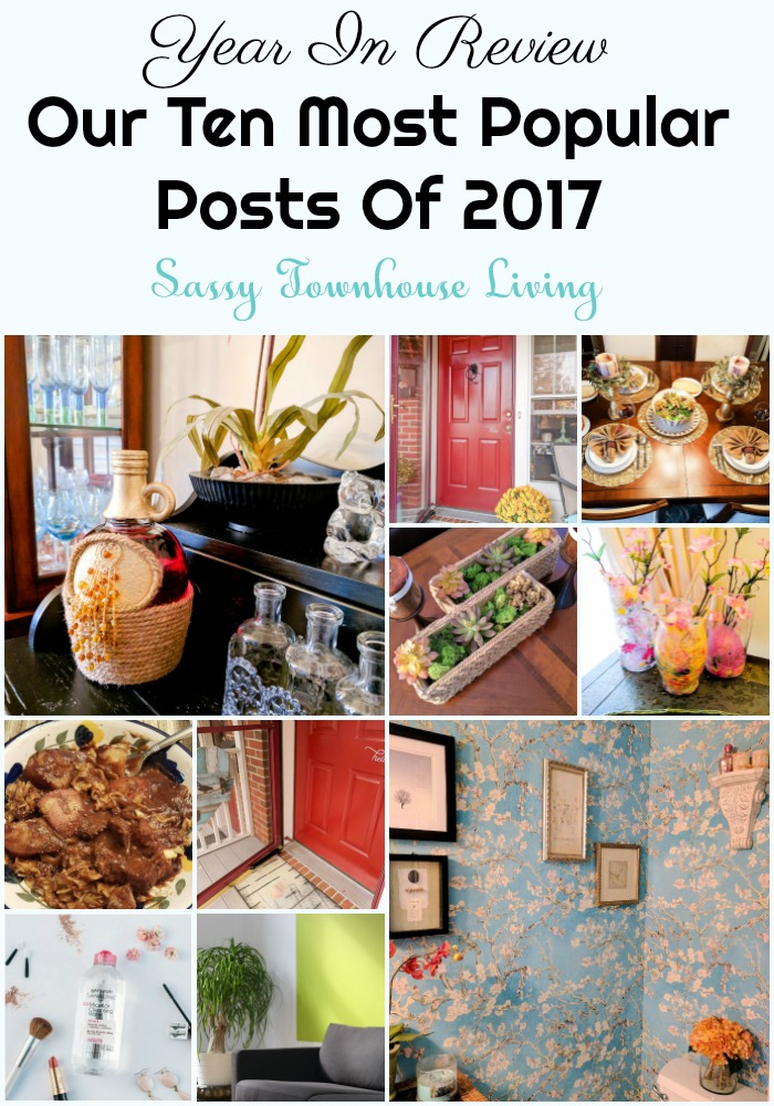 Year In Review - Our Ten Most Popular Posts Of 2017 - Sassy Townhouse Living