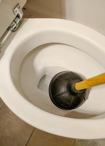 unclog a blocked drain
