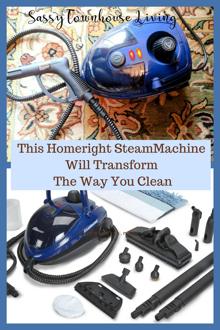 This Homeright SteamMachine Will Transform The Way Your Clean - Sassy Townhouse Living