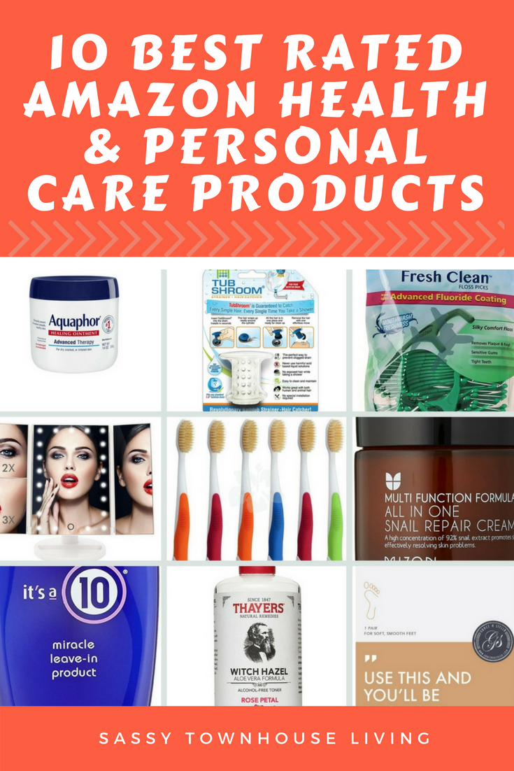 10 Best Rated Amazon Health & Personal Care Products-Sassy Townhouse Living