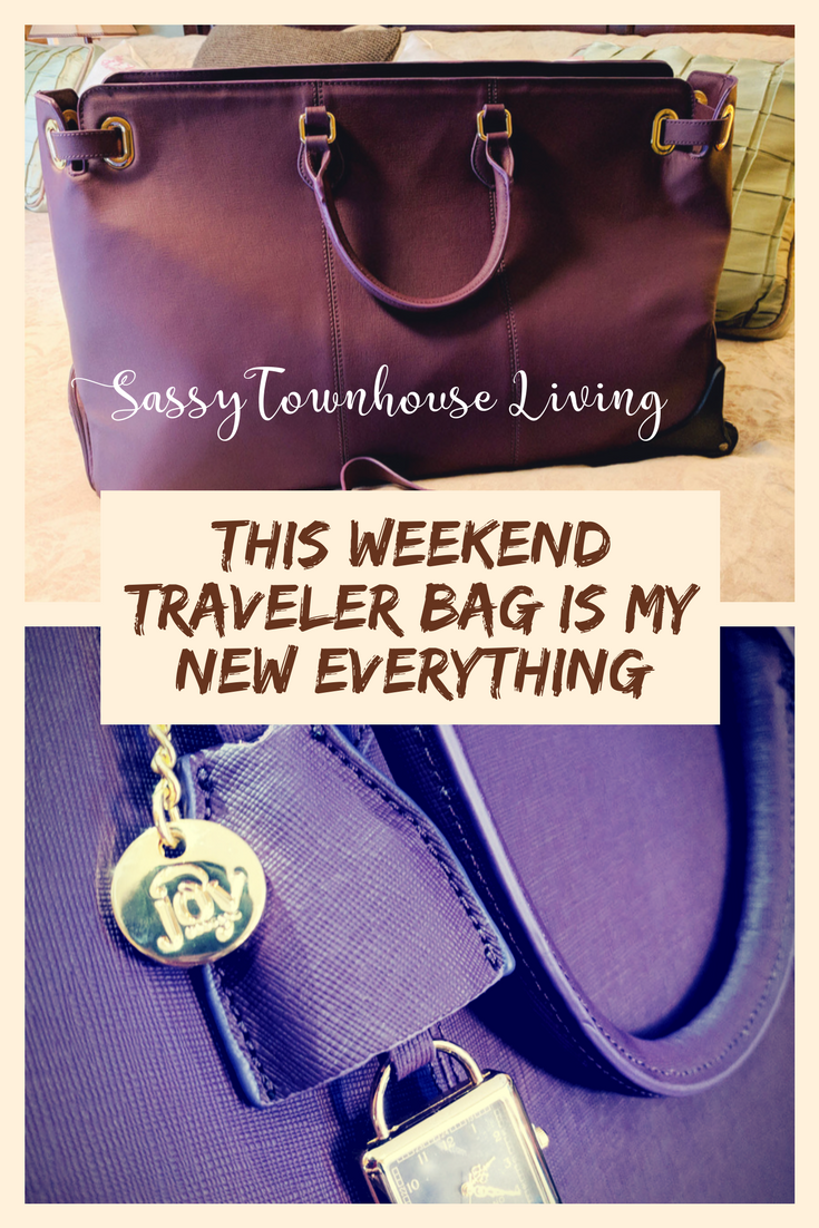 This Weekend Traveler Bag Is My New Everything - Sassy Townhouse Living