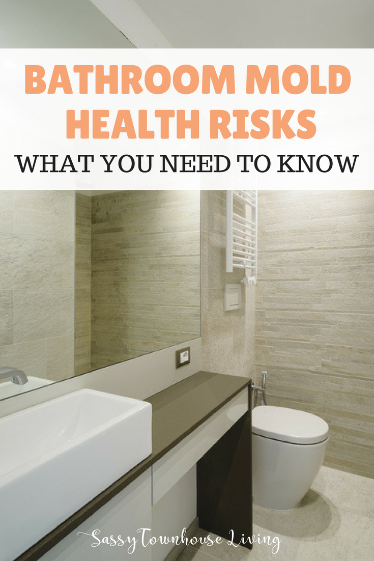 Bathroom Mold Health Risks - What You Need To Know - Sassy Townhouse Living