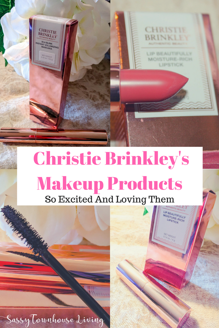 Christie Brinkley's Makeup Products - So Excited And Loving Them - Sassy Townhouse Living