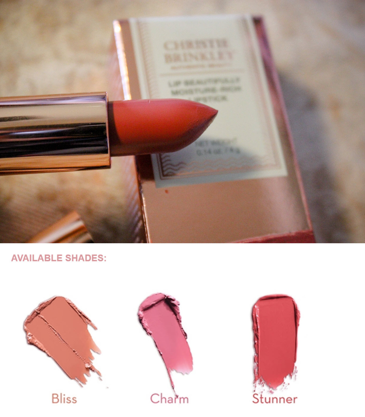 Christie Brinkley's Makeup Products