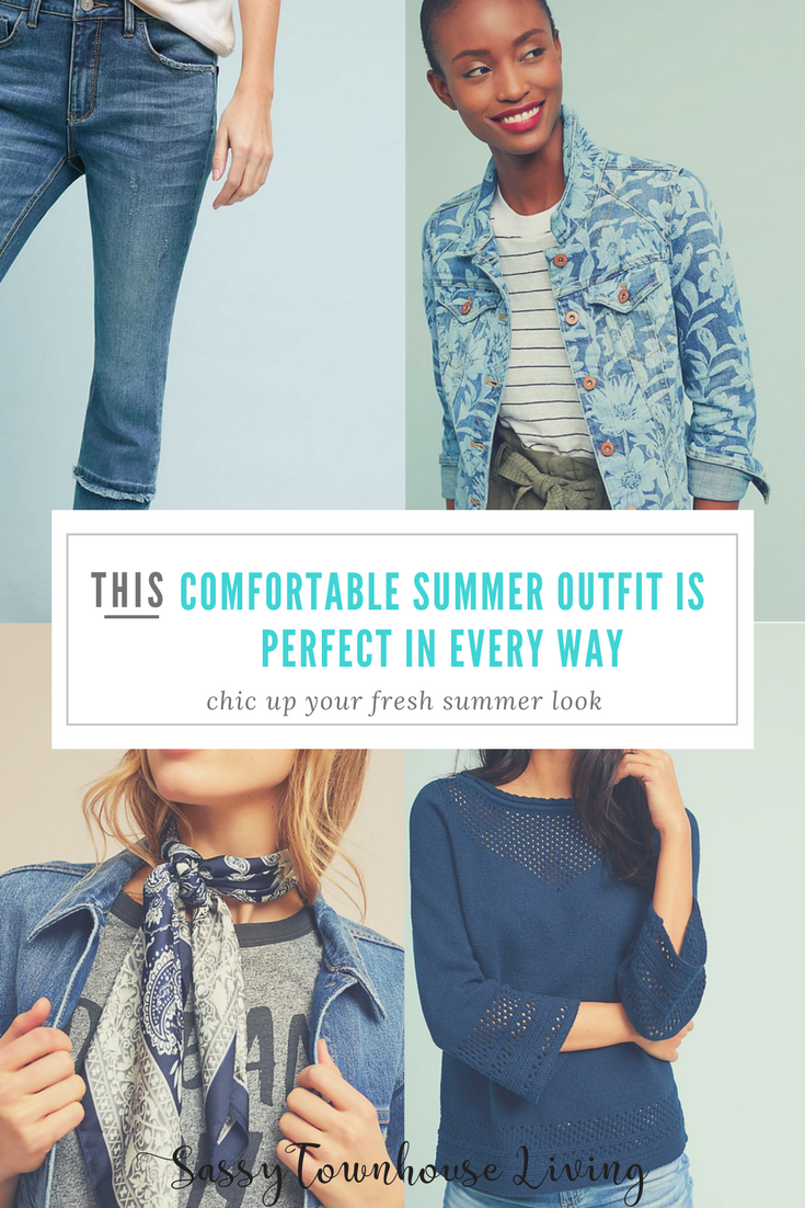 Comfortable Summer Outfit Is Perfect In Every Way - Sassy Townhouse Living