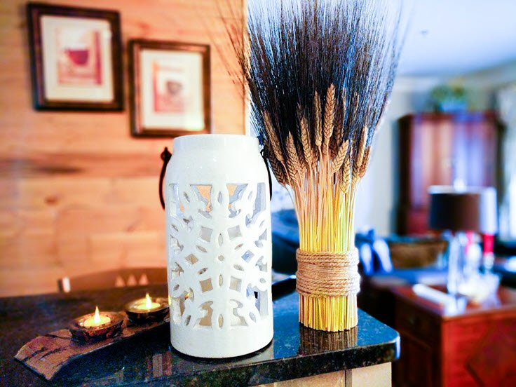Wheat Harvest Bundle Wayfair Hack DIY Home Decor