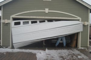 faulty garage door